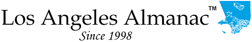 Los Angeles Almanac Logo